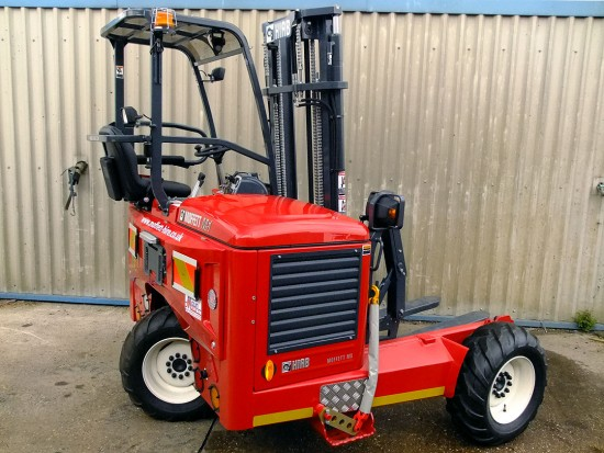 Moffett M5 Truck Mounted Fork Lift Rental 11