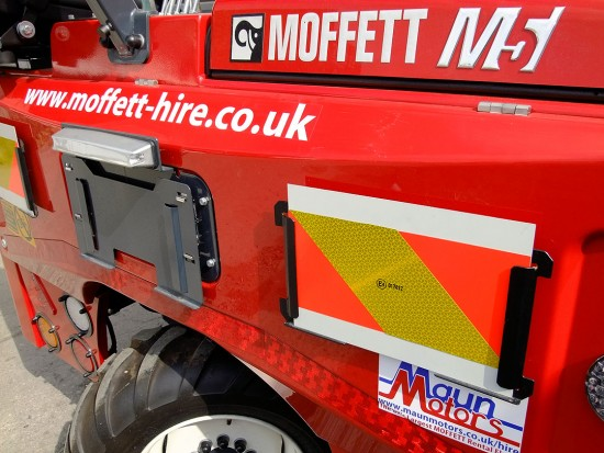 Moffett M5 Truck Mounted Fork Lift Rental 14
