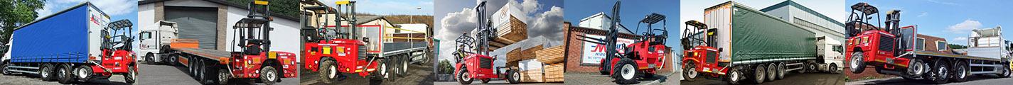 Moffett Mounty Truck Mounted Forklift Hire