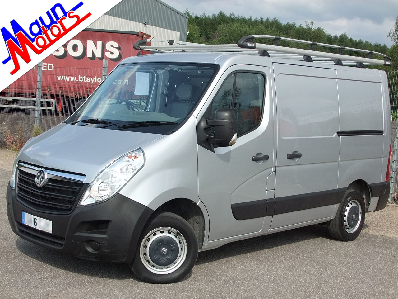 Vauxhall Movano used vans for sale