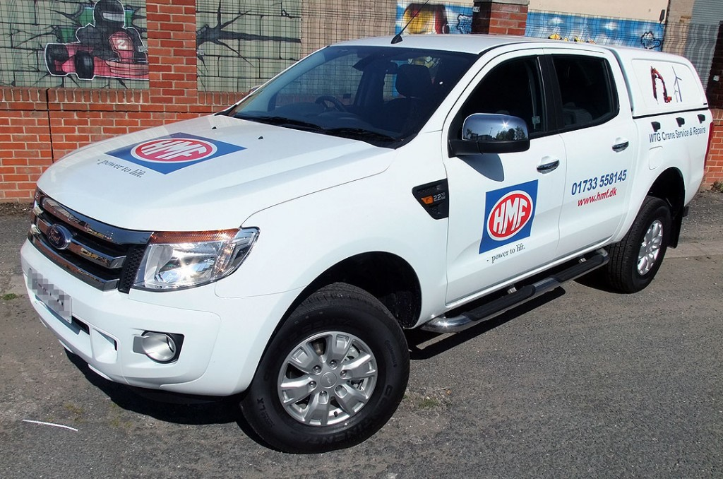 Specialist Commercial Vehicle Hire from Maun Motors Self Drive - Ford Ranger Double Cab 4x4 Pick-Up - Specialised van hire, specialist lorry hire, specialist van hire, specialised vehicle hire
