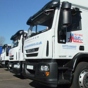 maun motors self drive truck hire derby lorry rental. Black Bedroom Furniture Sets. Home Design Ideas