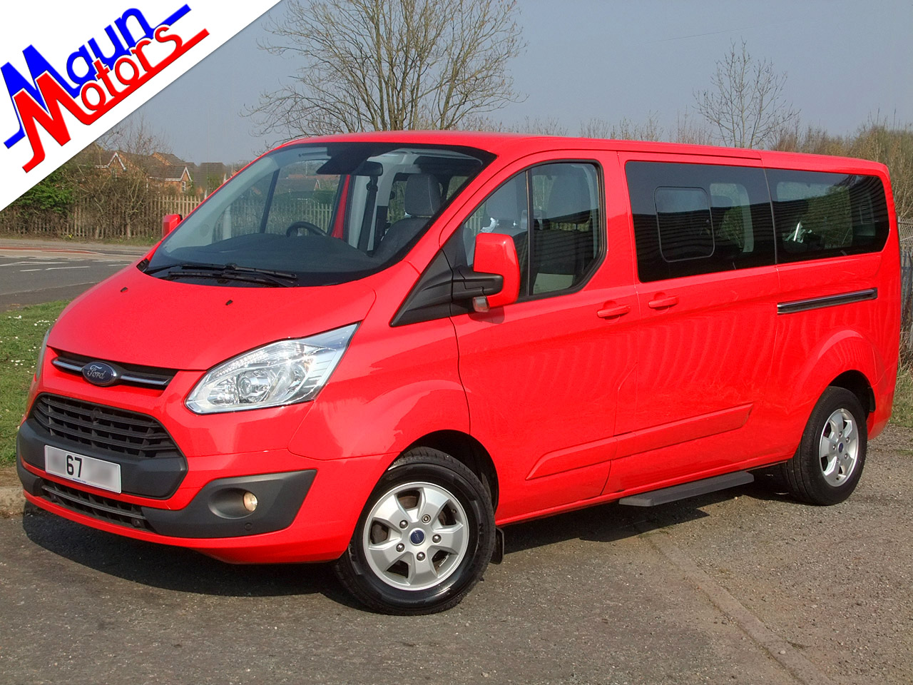 Ford Tourneo Custom used minibuses for sale