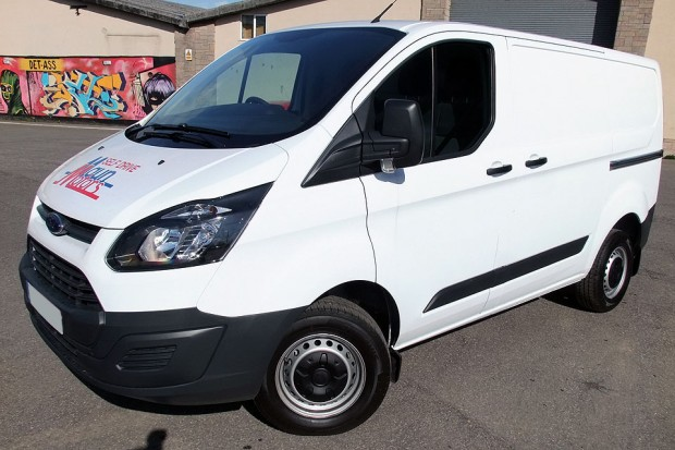 Ford Transit Custom Panel Van01