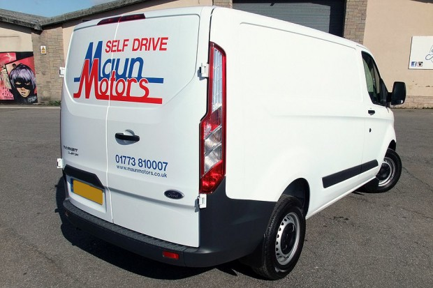 Ford Transit Custom Panel Van 06