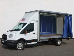 Tautliner 3.5 tonne Curtain Side Van Hire - Transit Curtainsider Rental from Maun Motors Self Drive van hire