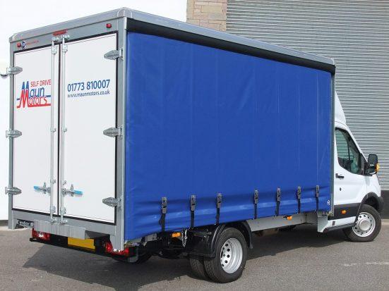 Maun Motors Self Drive Curtain Side Van Hire 3 5t Rental