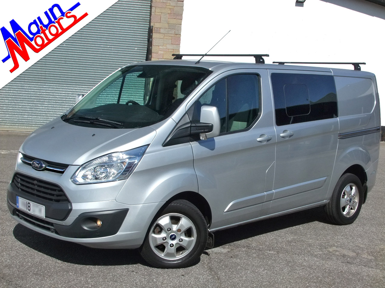 Ford Transit Custom used vans for sale