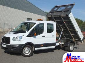 3.5 tonne Crew Cab Tipper Hire. Van Rental from Maun Motors Self Drive hire