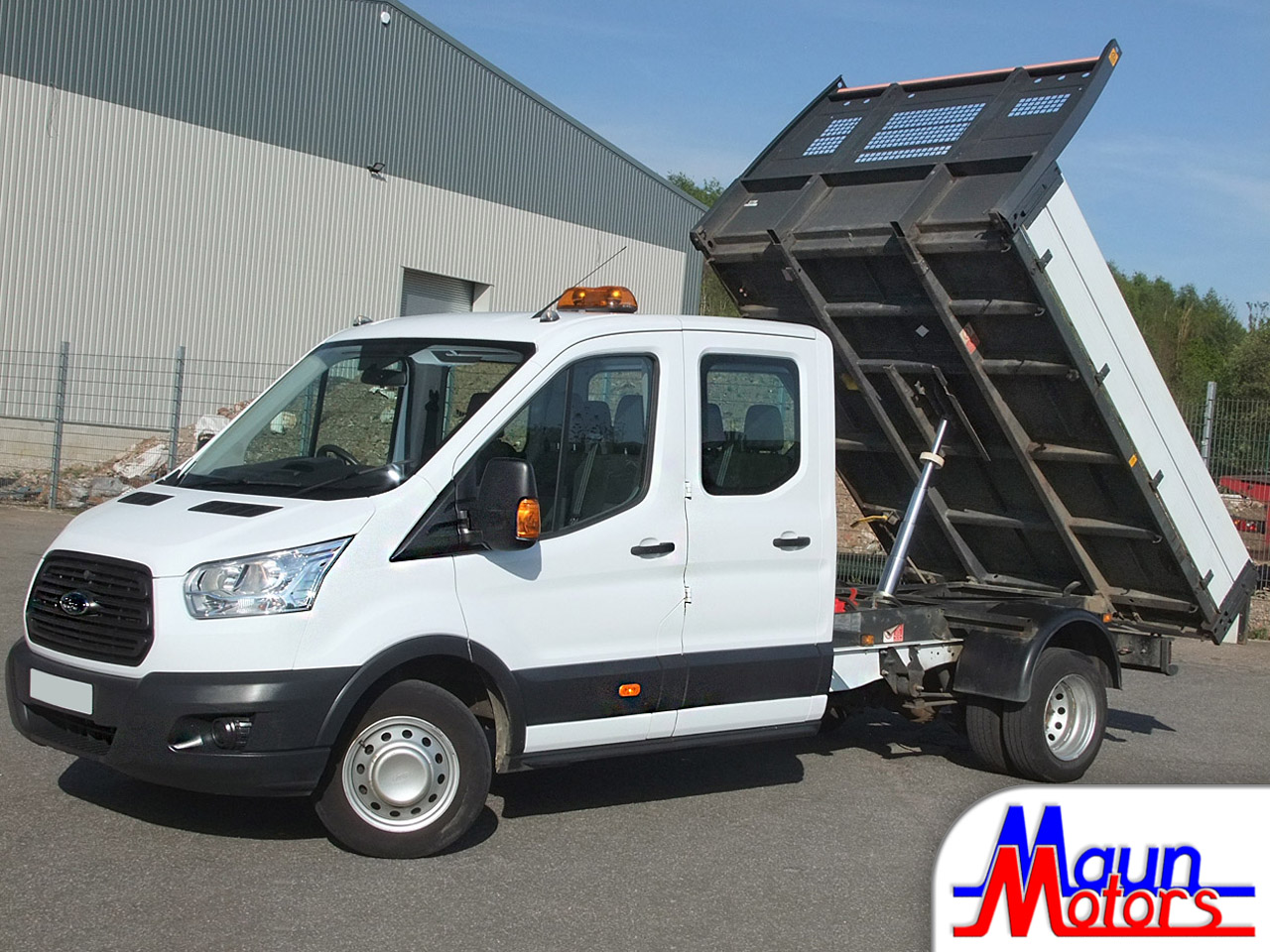 3.5t Tipper Hire - Crew Cab / Double Cab