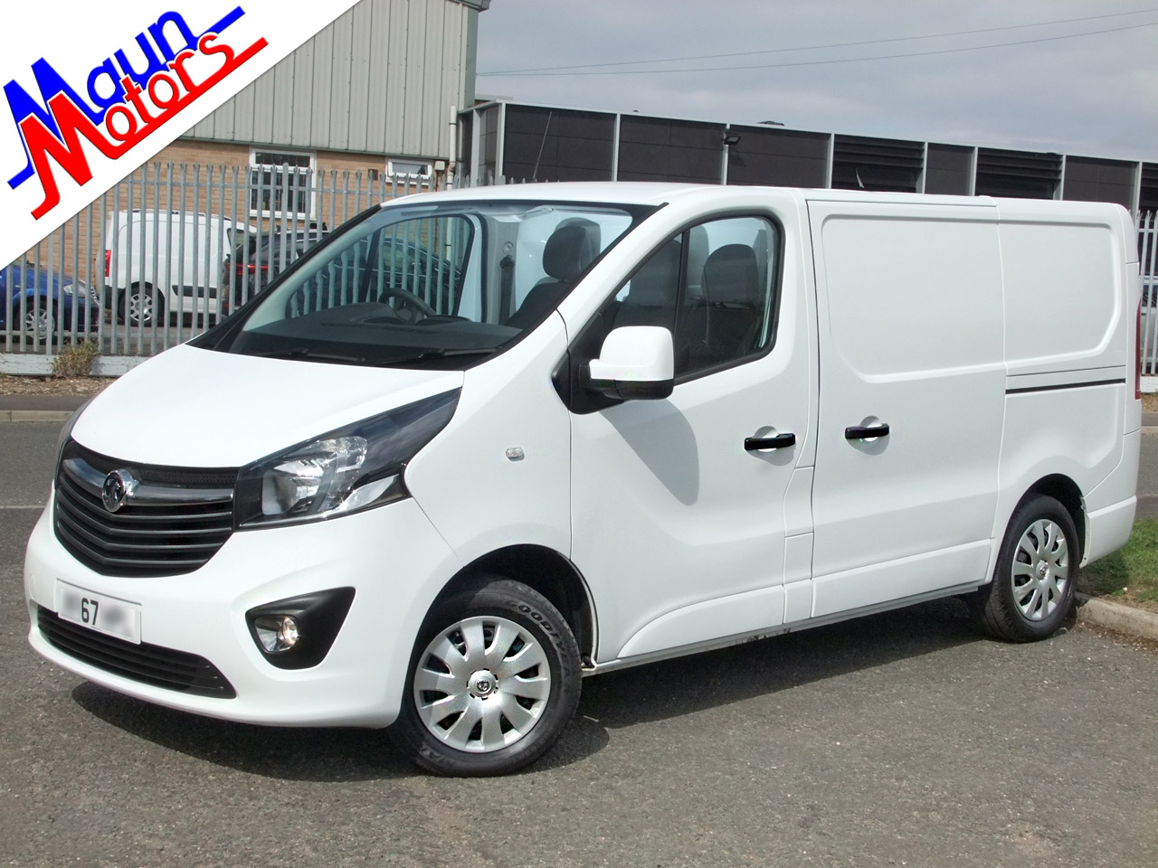 Vauxhall Vivaro used vans for sale